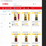 Cadbury Old Gold 180g Chocolate Blocks Varieties $2.50 (½ Price) @ Coles