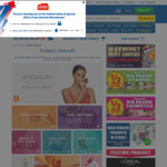 40% off Andalou Naturals @ Chemist Warehouse (Online Only)