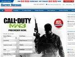 Call of Duty Modern Warfare 3 Preorder $78 Consoles $72 PC Harvey Norman