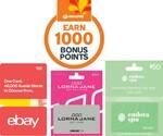 Buy $50 eBay Gift Cards, Get 1000 Rewards Pts (Worth $5) | Buy $100 eBay, Ultimate JB & TGG, Get 2000 (Worth $10) @ Woolworths