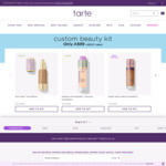 Tarte Cosmetics 7 Full Size Item Pack $99 Free Shipping (up to $327 Value)