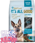Applaws It's All Good Dry Dog Food Adult Large Breed Grain Free Chicken 5.5kg $14.77 + Postage (RRP $49.95) @ Pet Station