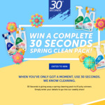 Win 1 of 8 Spring Cleaning Packs from 30 Seconds