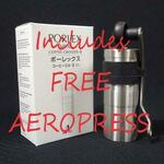 AeroPress & Porlex Mini II Coffee Mill Grinder Combo $109 + Free Delivery @ Central Coast Coffee