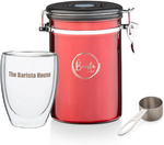 Win Dad a Coffee Canister and Double Walled Coffee Cup from The Barista House
