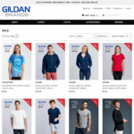 80% off: T-Shirts $3, 6 Pairs of Socks $5, Hoodies and Jackets $10 + Delivery @ Gildan Brands