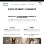 [NSW] 25% off Full Price Tickets with Citibank @ Taronga Zoo