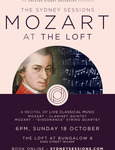 """Win a Double Pass to """"Mozart at The Loft"""" on 18/10 (from The Greater Sydney Orchestra) Worth $100 from Sydney Sessions"""
