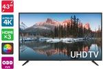 """[Pre Order] Kogan 43"""" 4K UHD HDR LED TV for $299 + Delivery @ Kogan"""