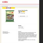 [VIC, WA] Kawan Plain Paratha 1.2 kg $4.00 / $4.50 (NSW) @ Coles