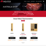 15% off Meater Plus Smart Wireless Meat Thermometer ($169.15 + Delivery) @ Meater