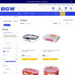 50% off Sistema Food Storage Containers @ Big W