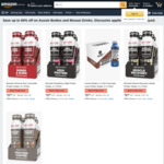 Aussie Bodies or Musashi Protein Shake (6x 375ml) $9.99 + Delivery ($0 with Prime/ $39 Spend) @ Amazon AU