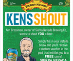 Free 357ml Can of Sierra Nevada California IPA (Redeemable at Local Bottle Shop)