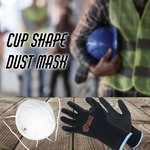KN95 Cup Shaped Face Dust Mask (Pack of 20) + 2x Industrial Safety Gloves $49.95 Delivered - (RRP $99) @ Whsafe