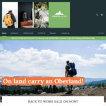 20% off All Laptop and Business Bags + $10 Delivery @ Oberland