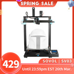 Upgraded Large Direct Drive Auto-Leveling 3D Printer Sovol SV03 Delivered US$419 (~A$555) Delivered @ Sovol