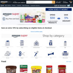5% off Selected Items When You Spend $50 or More @ Amazon AU