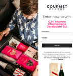 Win a a G.H. Mumm Champagne Jeraboam 3L Worth $400 from The Gourmet Pantry