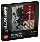 LEGO Art Harry Potter Hogwarts Crests 31201 $74.25 ($64.25 after $10 Newsletter Coupon) + More @ Target