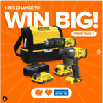 Win 1 of 3 Stanley Fatmax Kits Worth Up to $499 from Shophumm/Mitre 10