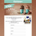 Win a Lindt Chocolate Hamper & 5 Tubs of Gelatissimo Gelato from Gelatissimo