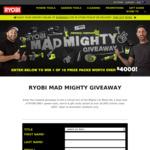 Win a Ryobi ONE+ Tool & MCM Pack Worth $1,320 or 1 of 15 Ryobi/MCM Packs from Ryobi