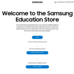Spend over $1,200 and Receive $150 off Your Order on Mobile, Tablet, Wearable and Accessories @ Samsung Education Store