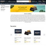 $5 Amazon Credit with Purchase of $75 Amazon Gift Card @ Amazon Australia