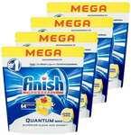 4x 64PK Finish Mega Powerball Quantum Max Dishwashing Tablets F/Dishwasher Lemon $89 Delivered @ KG Electronic via MyDeal