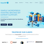 50% off First Invoice - Managed WordPress Hosting @ SequelWP