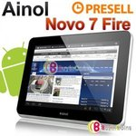 "Ainol Novo7 Fire / Flame / Burning 7"" Dual Core Tablet: USD$150 Delivered"