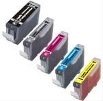 Compatible Canon CLI8 M, Y, C, BK + PGI5BK Ink $6.99 Pickup @ CPL Ink & Toner
