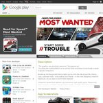 Need for Speed: Most Wanted/FIFA 12 $0.99 Each (Android)
