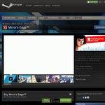 [Steam] 75% off Mirror's Edge - $2.50 USD