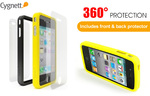 Cygnett Snaps Duo Silicone Frames iPhone 4/4S $0.98 Delivered RRP $15 (2x Frame+Front+Back Protect)