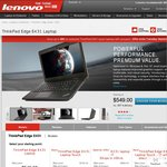 Lenovo ThinkPad E431 Touch $864 with i7-3632QM, 16GB RAM, GeForce GT 740M