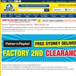 Fisher & Paykel Factory Second, Refurbished & New Clearance + Free Sydney Delivery - 2nds World