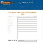 FREE Wristband Sample Pack from Imagepak