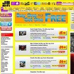 JB Hi-Fi BOGOF on Selected Blu-Rays
