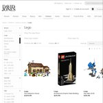 20% of ALL Lego at David Jones **One Day Online Only Offer**