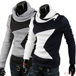 Men's Fashion Turtleneck Sweater 2 Colors 4 Size AU $17.90 Free Shipping @ AliExpress