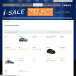Hyundai Nation Wide August Sale - Free AUTO on Most Base Models + Veloster Range (Save $2000+)