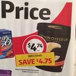 Connoisseur Ice Cream 1L - 50% off - $4.74 - Coles
