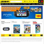 PS Vita $199 at JB Hi-Fi with Choice of Free Game (from Selection)
