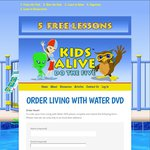 FREE Living with Water DVD (Teach Your Kid How to Swim) from Kids Alive