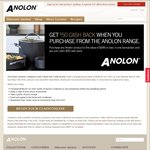 $50 Cashback on Anolon Cookware (Min Spend $349)