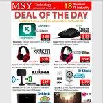MSY - Razor Taipan Mouse $39, Kraken Neon Headset $39, Edimax Wi-Fi AC USB3.0 Adapter $27 + More
