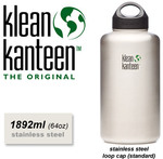 Klean Kanteen - 1900ml Wide Mouth Stainless Steel Bottle. $21.95. Free Pickup or $8.95 Shipping @ Shop Naturally