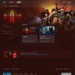Diablo III and Diablo III: Reaper of Souls 50% off (AUD $27.47 & AUD $22.48) @ Battle.net